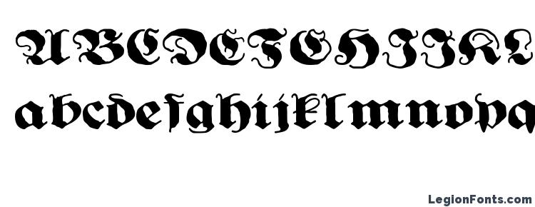 Подборка шрифтов для тату-надписей