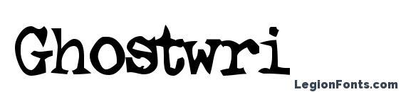 Ghostwri Font