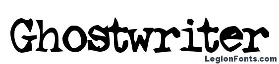 Ghostwriter Font, Halloween Fonts