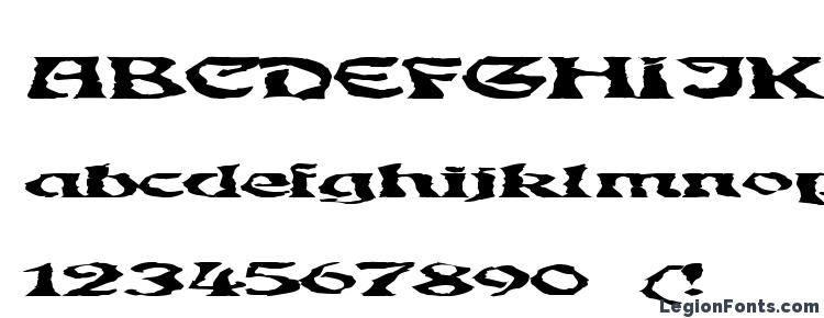 glyphs GhoulyBooly font, сharacters GhoulyBooly font, symbols GhoulyBooly font, character map GhoulyBooly font, preview GhoulyBooly font, abc GhoulyBooly font, GhoulyBooly font
