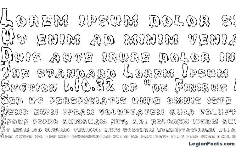 specimens GhoulyCaps Regular font, sample GhoulyCaps Regular font, an example of writing GhoulyCaps Regular font, review GhoulyCaps Regular font, preview GhoulyCaps Regular font, GhoulyCaps Regular font