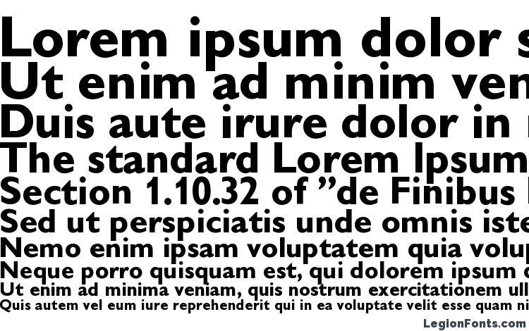 specimens Gibson Bold font, sample Gibson Bold font, an example of writing Gibson Bold font, review Gibson Bold font, preview Gibson Bold font, Gibson Bold font