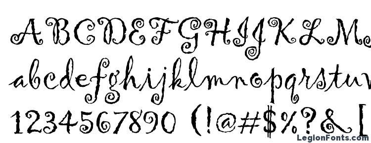 glyphs Gigi font, сharacters Gigi font, symbols Gigi font, character map Gigi font, preview Gigi font, abc Gigi font, Gigi font