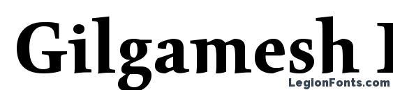 Gilgamesh Bold Plain Font