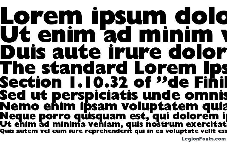 specimens GillionBlackDB Normal font, sample GillionBlackDB Normal font, an example of writing GillionBlackDB Normal font, review GillionBlackDB Normal font, preview GillionBlackDB Normal font, GillionBlackDB Normal font