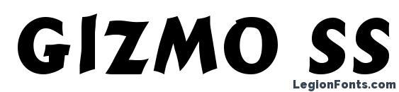шрифт Gizmo SSi, бесплатный шрифт Gizmo SSi, предварительный просмотр шрифта Gizmo SSi