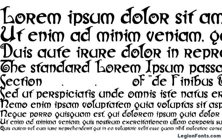 specimens Gjallarhorn font, sample Gjallarhorn font, an example of writing Gjallarhorn font, review Gjallarhorn font, preview Gjallarhorn font, Gjallarhorn font