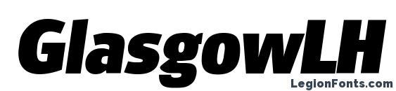 GlasgowLH Bold Italic Font, Bold Fonts