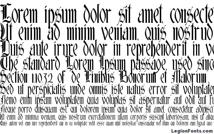 specimens Glastonbury font, sample Glastonbury font, an example of writing Glastonbury font, review Glastonbury font, preview Glastonbury font, Glastonbury font