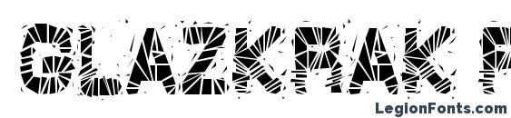 GlazKrak Regular Font