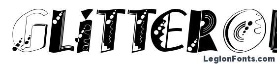 GlitterOblique Font