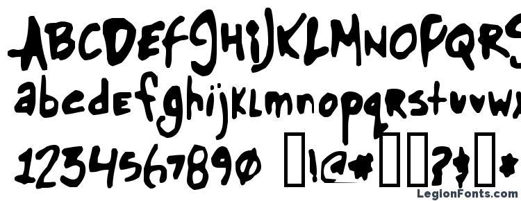 глифы шрифта Glue, символы шрифта Glue, символьная карта шрифта Glue, предварительный просмотр шрифта Glue, алфавит шрифта Glue, шрифт Glue