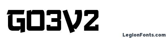 Go3v2 Font