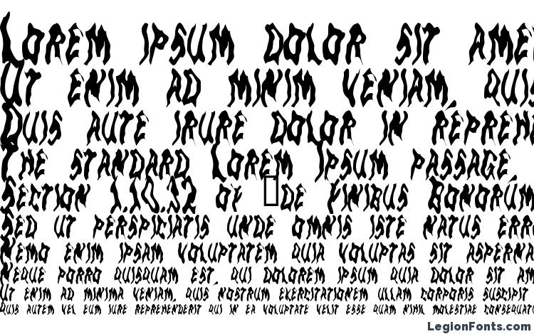 specimens GoblinMoon font, sample GoblinMoon font, an example of writing GoblinMoon font, review GoblinMoon font, preview GoblinMoon font, GoblinMoon font