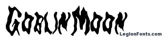 Шрифт GoblinMoon
