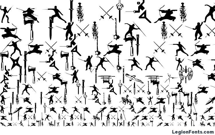 specimens Gods of War font, sample Gods of War font, an example of writing Gods of War font, review Gods of War font, preview Gods of War font, Gods of War font