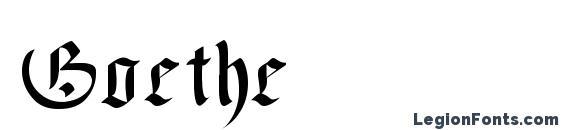 Шрифт Goethe, Свадебные шрифты