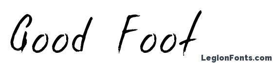 Good Foot Font, Cursive Fonts