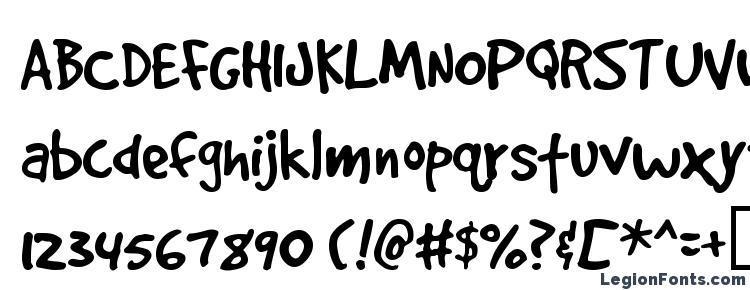 glyphs GoodDogPlain font, сharacters GoodDogPlain font, symbols GoodDogPlain font, character map GoodDogPlain font, preview GoodDogPlain font, abc GoodDogPlain font, GoodDogPlain font