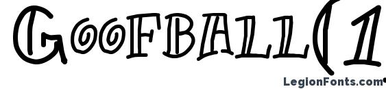 Goofball(1) Font
