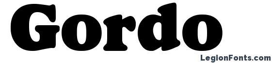 Gordo Font