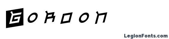 Gordon Font