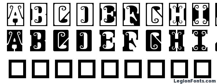 glyphs Gosford font, сharacters Gosford font, symbols Gosford font, character map Gosford font, preview Gosford font, abc Gosford font, Gosford font