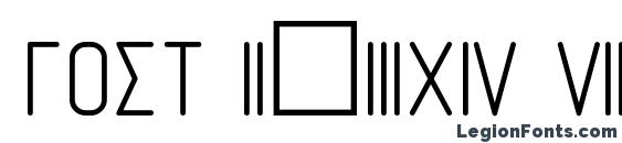 GOST 2.304 81 Symbol Font