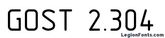 GOST 2.304 81 type B font, free GOST 2.304 81 type B font, preview GOST 2.304 81 type B font