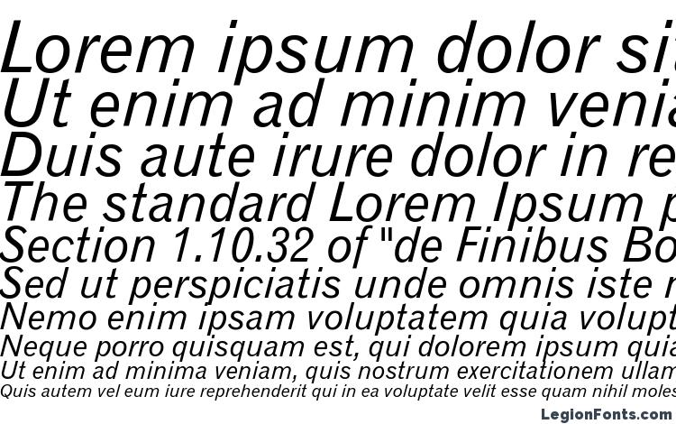 specimens Gothic 720 Italic BT font, sample Gothic 720 Italic BT font, an example of writing Gothic 720 Italic BT font, review Gothic 720 Italic BT font, preview Gothic 720 Italic BT font, Gothic 720 Italic BT font