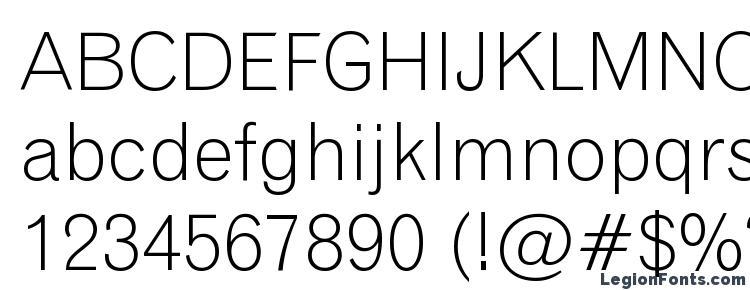 глифы шрифта Gothic 720 Light BT, символы шрифта Gothic 720 Light BT, символьная карта шрифта Gothic 720 Light BT, предварительный просмотр шрифта Gothic 720 Light BT, алфавит шрифта Gothic 720 Light BT, шрифт Gothic 720 Light BT