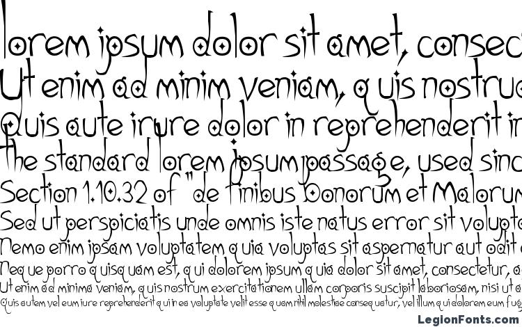 specimens Gothic Hijinx font, sample Gothic Hijinx font, an example of writing Gothic Hijinx font, review Gothic Hijinx font, preview Gothic Hijinx font, Gothic Hijinx font