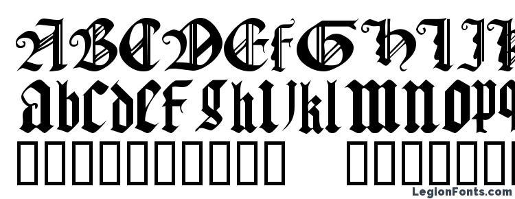 глифы шрифта Gothic texture quadrata, символы шрифта Gothic texture quadrata, символьная карта шрифта Gothic texture quadrata, предварительный просмотр шрифта Gothic texture quadrata, алфавит шрифта Gothic texture quadrata, шрифт Gothic texture quadrata