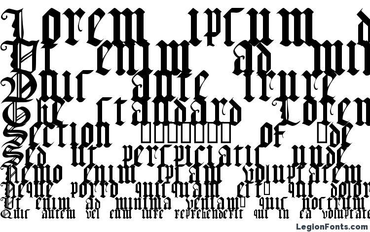 образцы шрифта Gothic texture quadrata, образец шрифта Gothic texture quadrata, пример написания шрифта Gothic texture quadrata, просмотр шрифта Gothic texture quadrata, предосмотр шрифта Gothic texture quadrata, шрифт Gothic texture quadrata