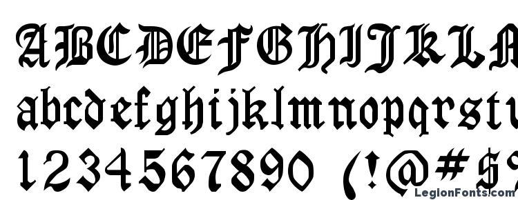 глифы шрифта Gothirus, символы шрифта Gothirus, символьная карта шрифта Gothirus, предварительный просмотр шрифта Gothirus, алфавит шрифта Gothirus, шрифт Gothirus