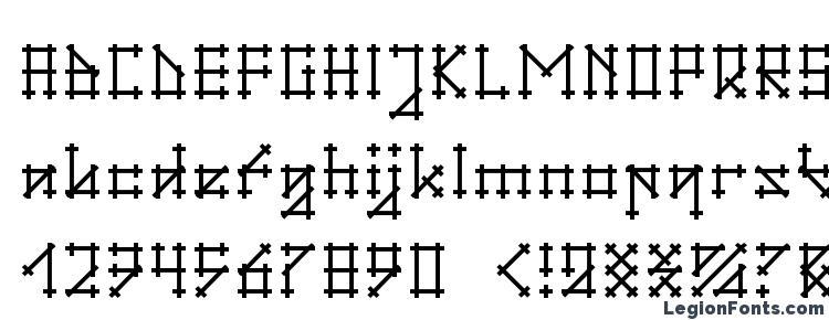 glyphs Gotika font, сharacters Gotika font, symbols Gotika font, character map Gotika font, preview Gotika font, abc Gotika font, Gotika font