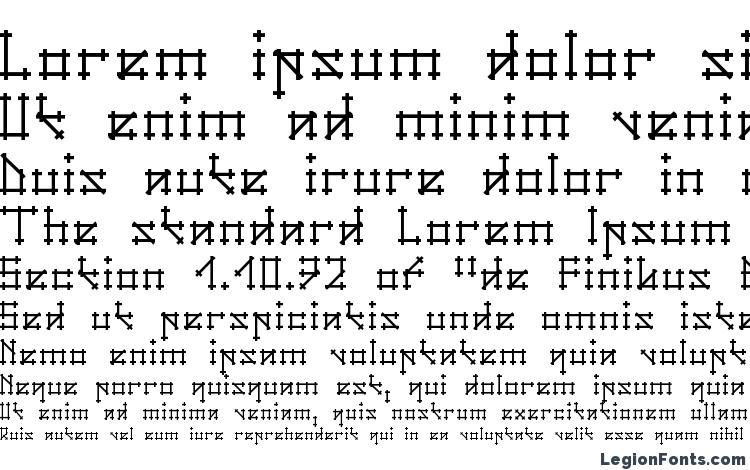 specimens Gotika font, sample Gotika font, an example of writing Gotika font, review Gotika font, preview Gotika font, Gotika font