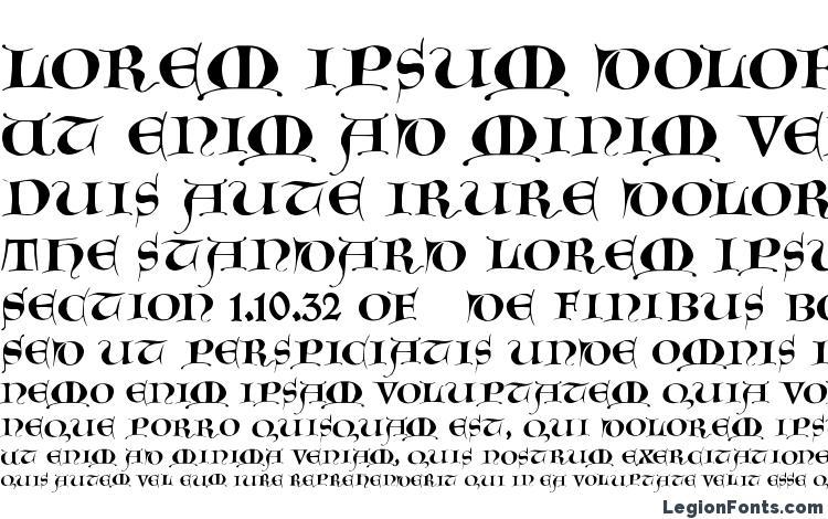 specimens GotischeMajuskel font, sample GotischeMajuskel font, an example of writing GotischeMajuskel font, review GotischeMajuskel font, preview GotischeMajuskel font, GotischeMajuskel font