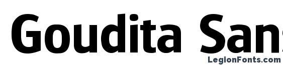 Шрифт Goudita Sans SF Bold