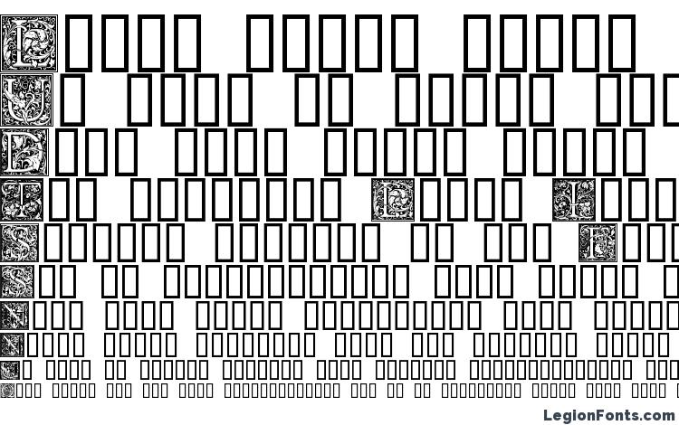 образцы шрифта Goudy Initialen, образец шрифта Goudy Initialen, пример написания шрифта Goudy Initialen, просмотр шрифта Goudy Initialen, предосмотр шрифта Goudy Initialen, шрифт Goudy Initialen