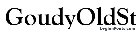 GoudyOldStyTEE Bold Font