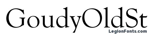 GoudyOldStyTEE Font, Typography Fonts