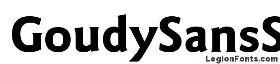 Шрифт GoudySansStd Bold