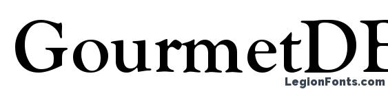 Шрифт GourmetDB Normal