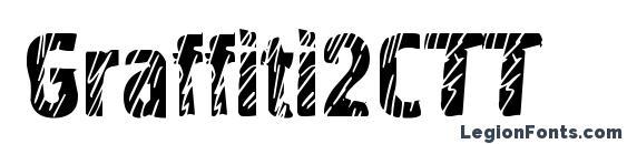Graffiti2CTT font, free Graffiti2CTT font, preview Graffiti2CTT font