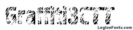 Graffiti3CTT Font