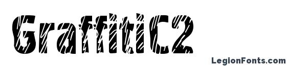 GraffitiC2 font, free GraffitiC2 font, preview GraffitiC2 font