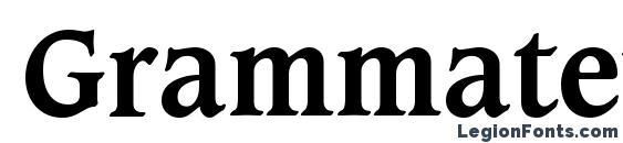 Шрифт Grammateus SSi Bold
