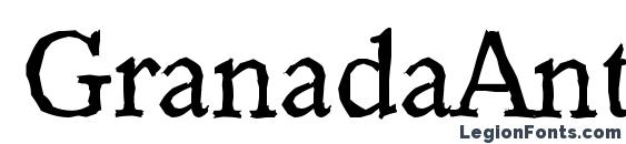 GranadaAntique Regular Font
