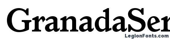 GranadaSerial Bold Font